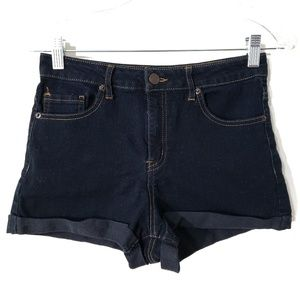 Forever 21 highrise jean shorts